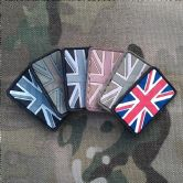 Gun Point Gear Union Jack Small PVC Patch